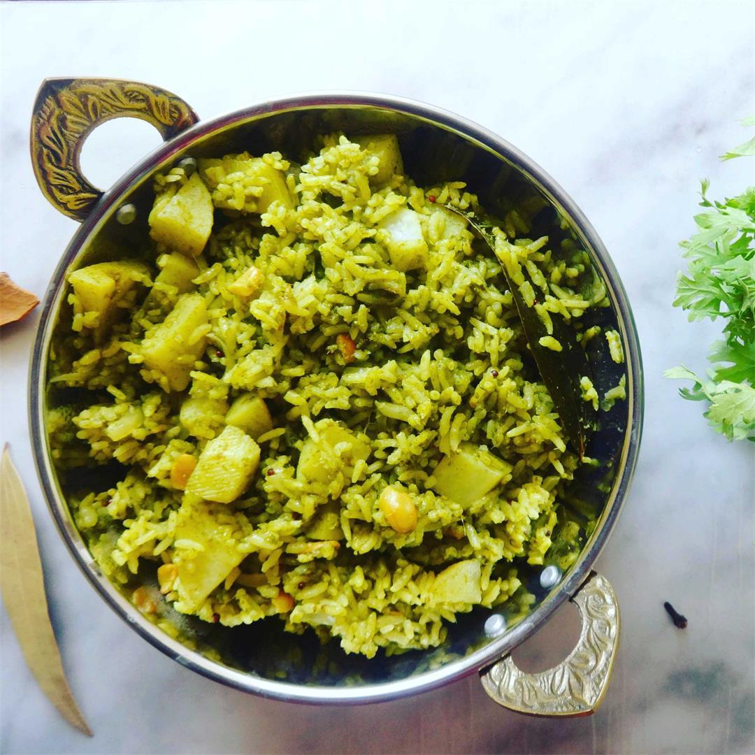 Coriander (Cilantro) Rice