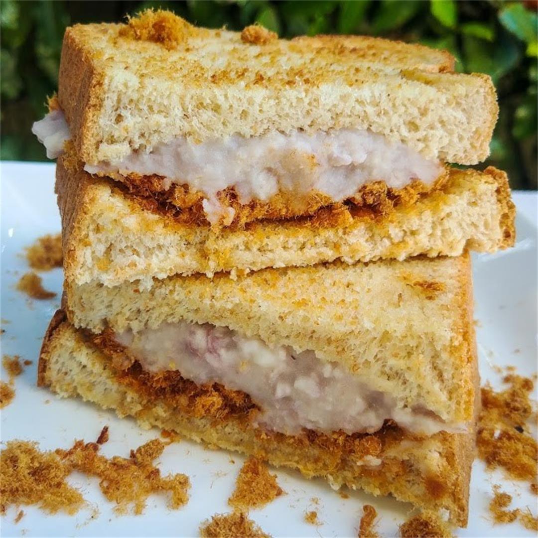 Taro Rousong Sandwich