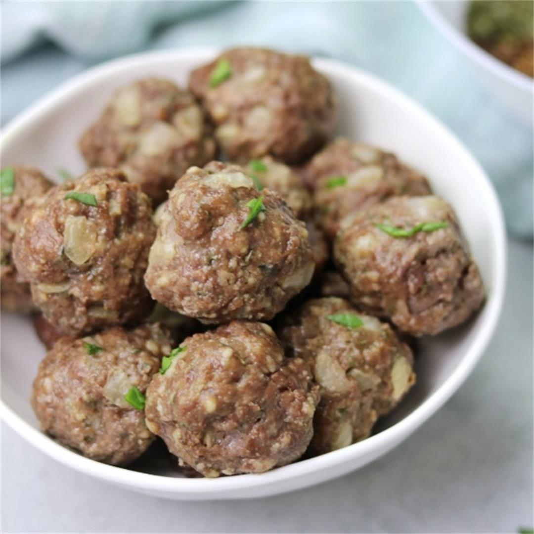 Easy Homemade Meatballs