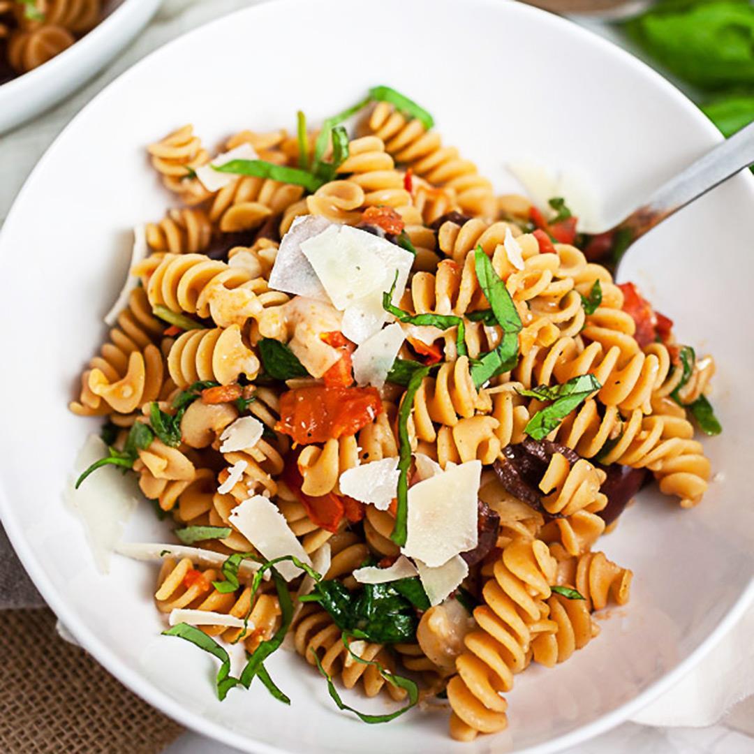 Vegetarian Mediterranean Pasta