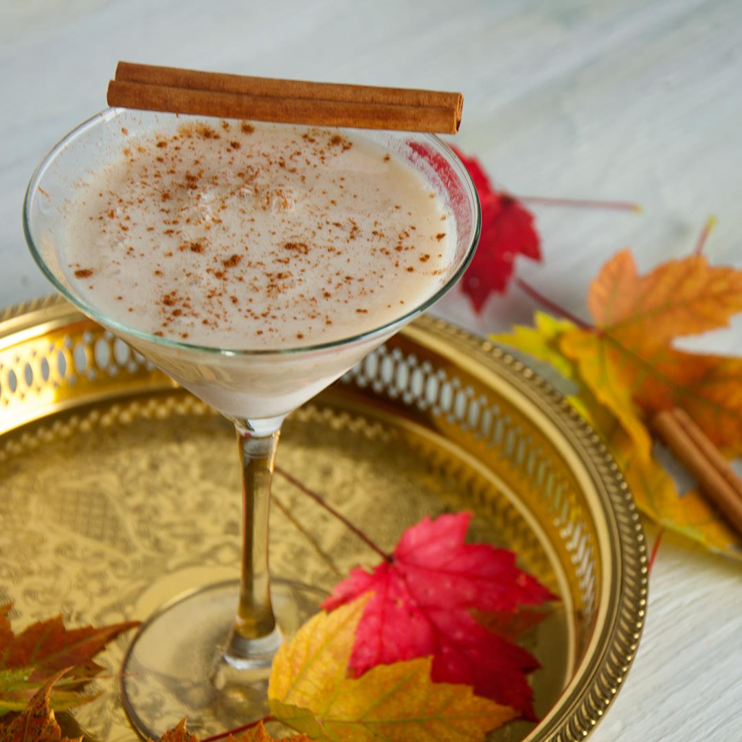 The RumChataTini Fall Cocktail