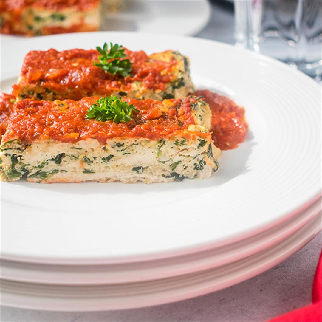 Italian Meatloaf with Chicken or Turkey