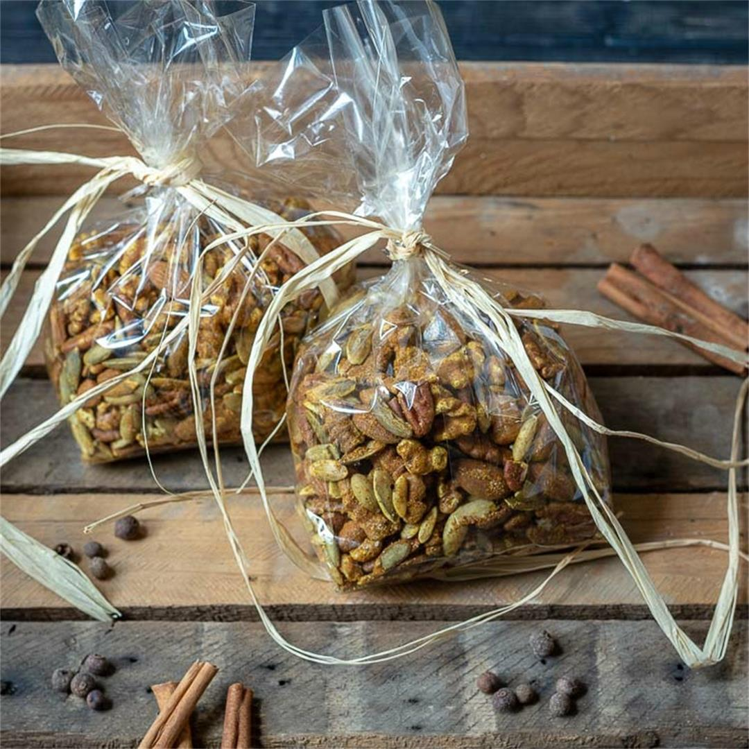 Moroccan Spiced Nuts to Serve or Gift This Season