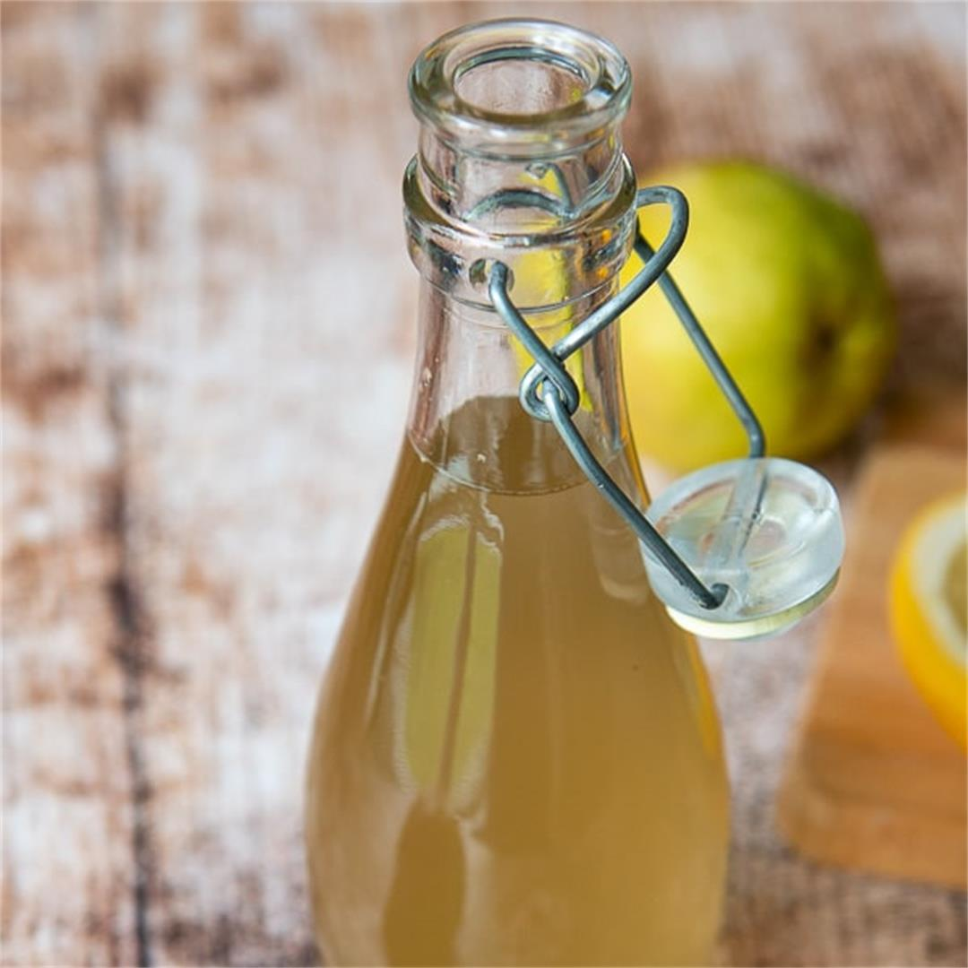How to Make Ginger Simple Syrup