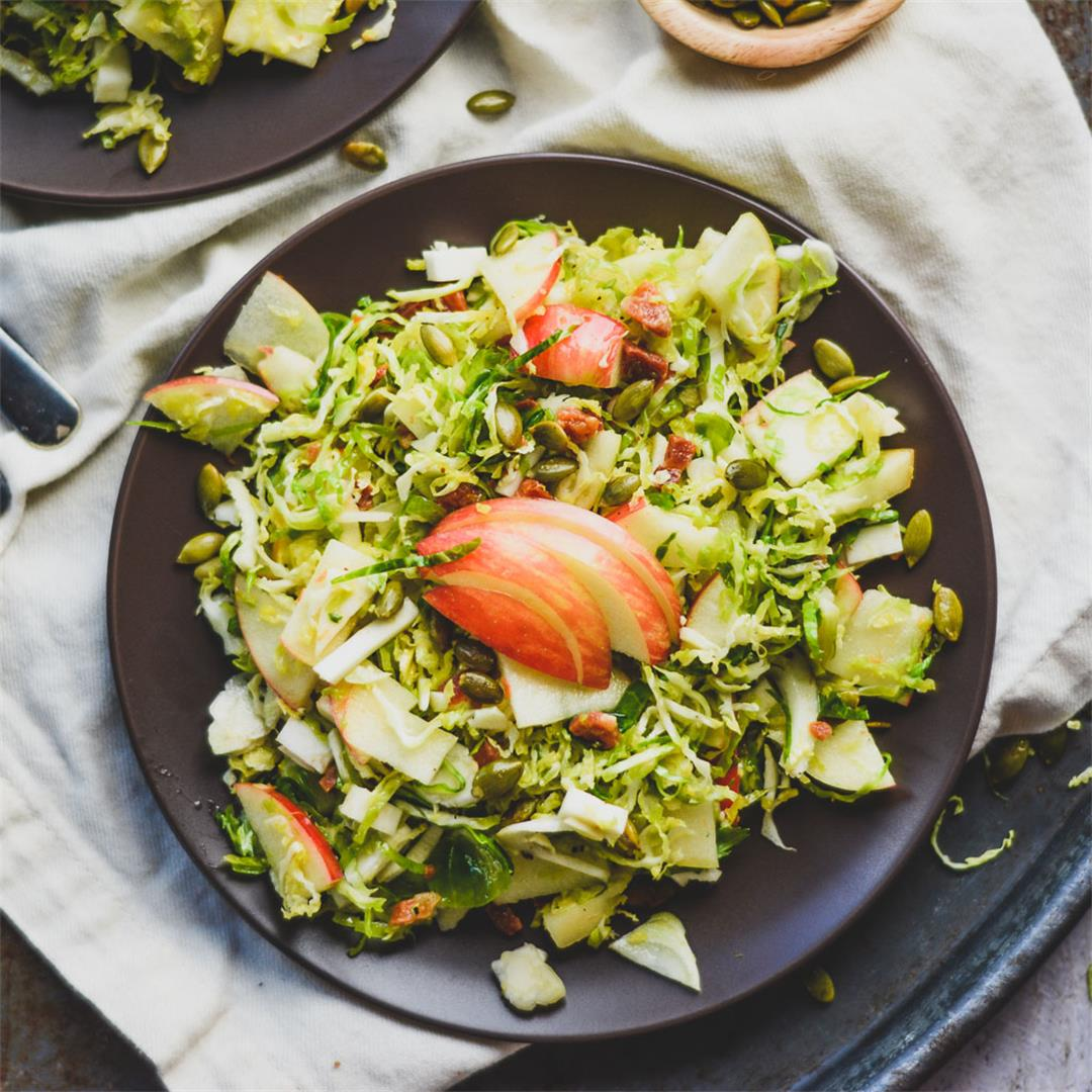 Shaved Brussels Sprouts Salad — Wanderings in My Kitchen