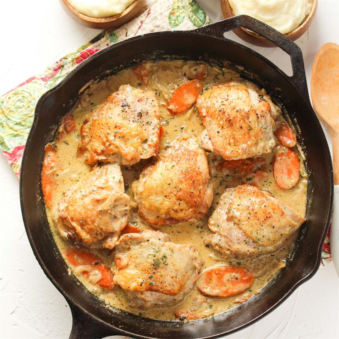Chicken Cast-Iron Skillet Recipe