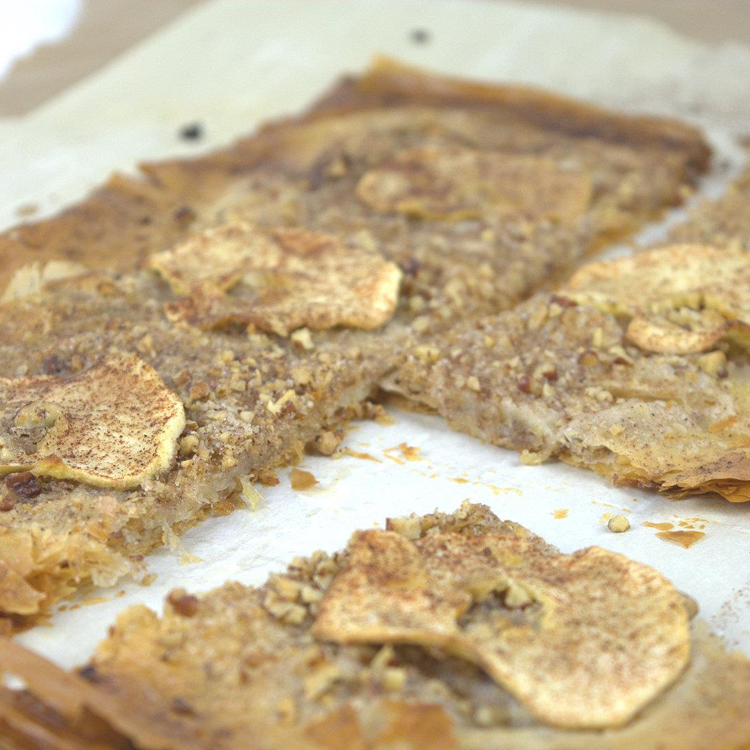 Apple Pecan Phyllo Crisp – A Gourmet Food Blog
