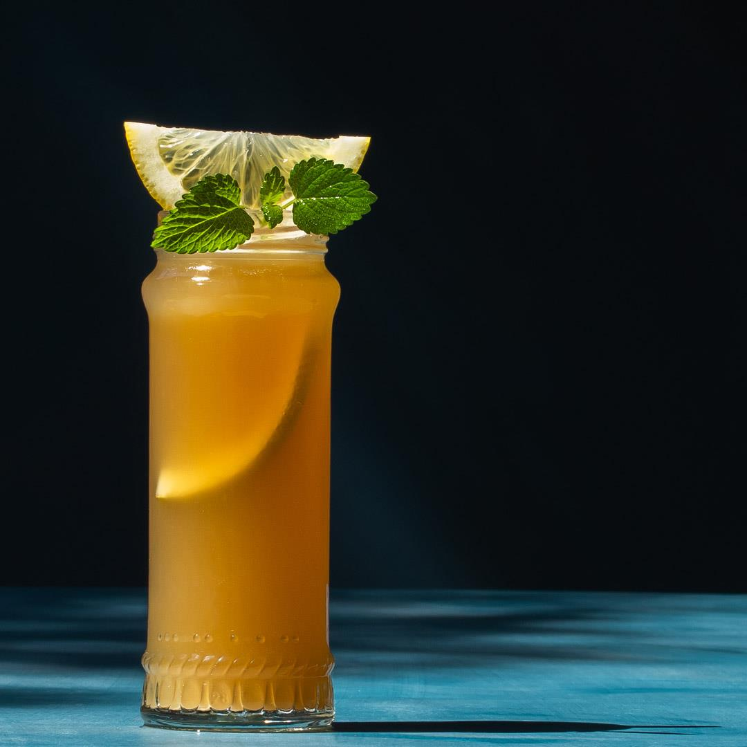 Pickle Gin Buck Cocktail