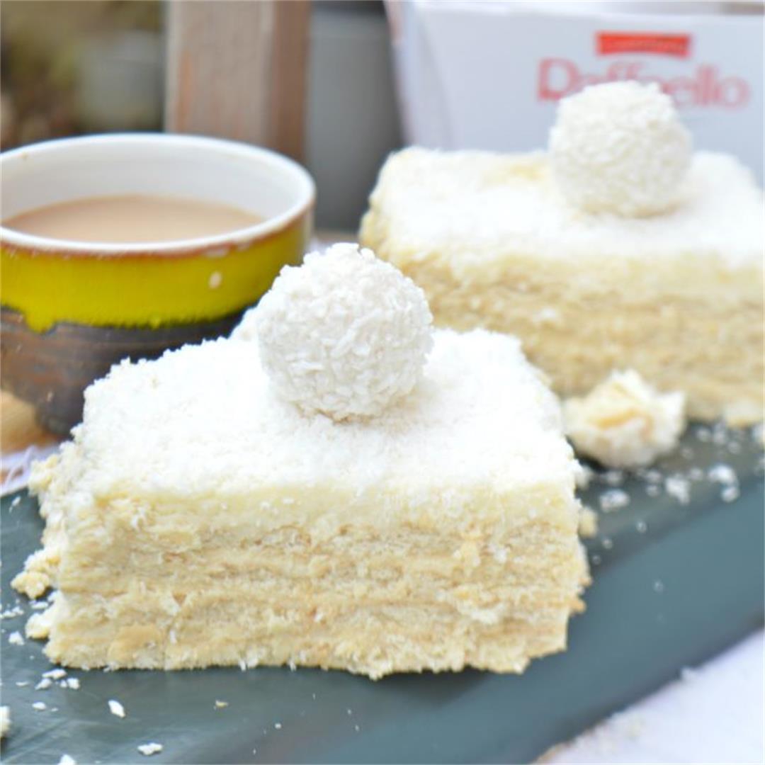 No Bake Raffaello Cake — Tasty Food for Busy Mums Easy Recipes