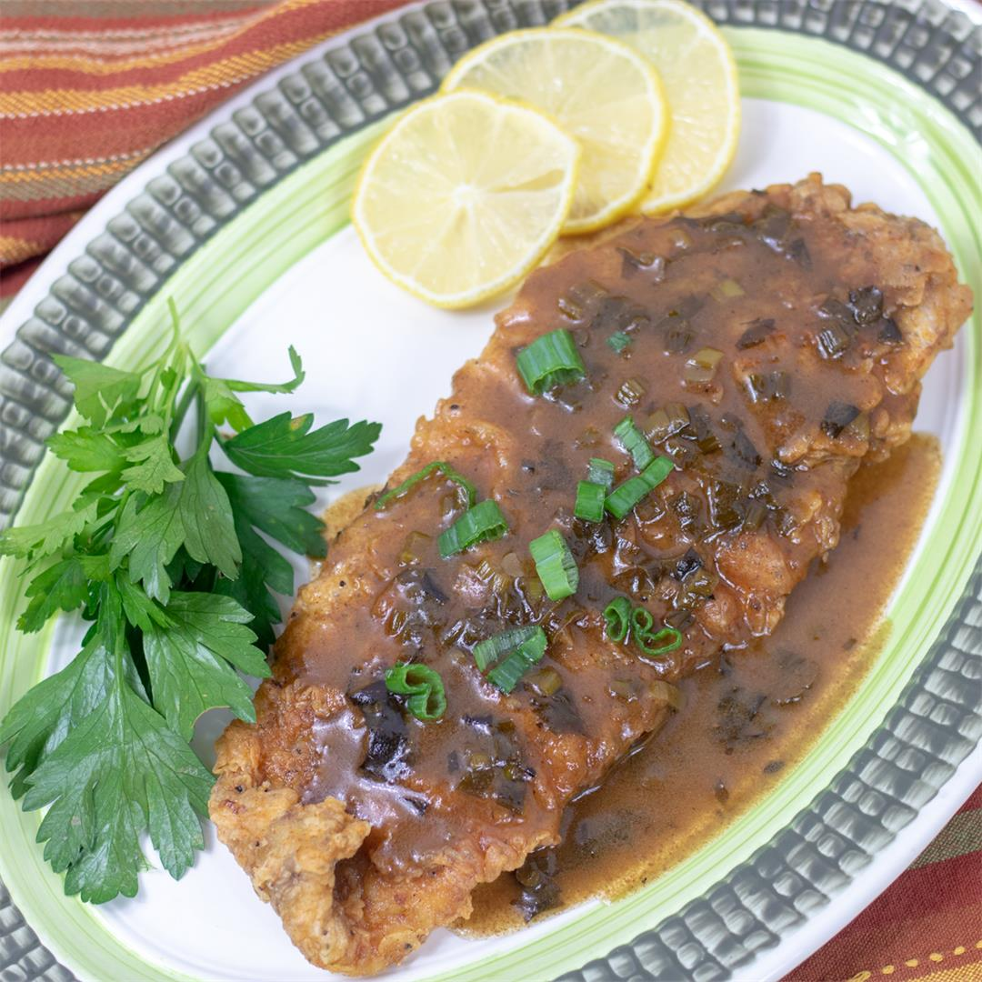 Trout Meuniere-Classic Creole!