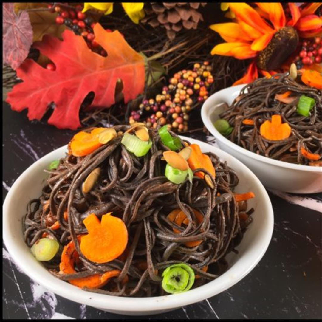 Healthy Halloween Recipes: Poppyseed Butter Noodles