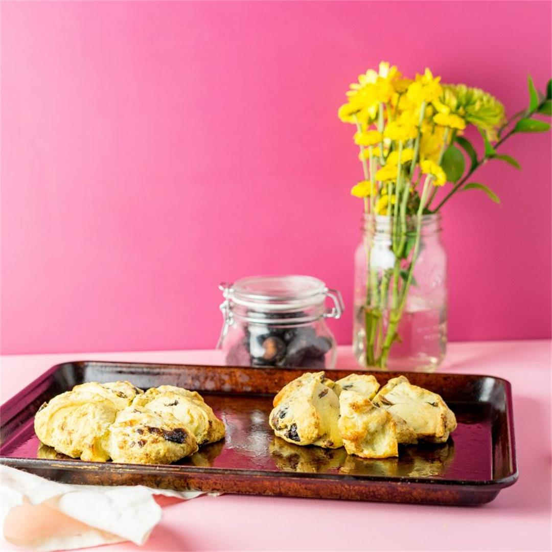 Brie and Fig Scones