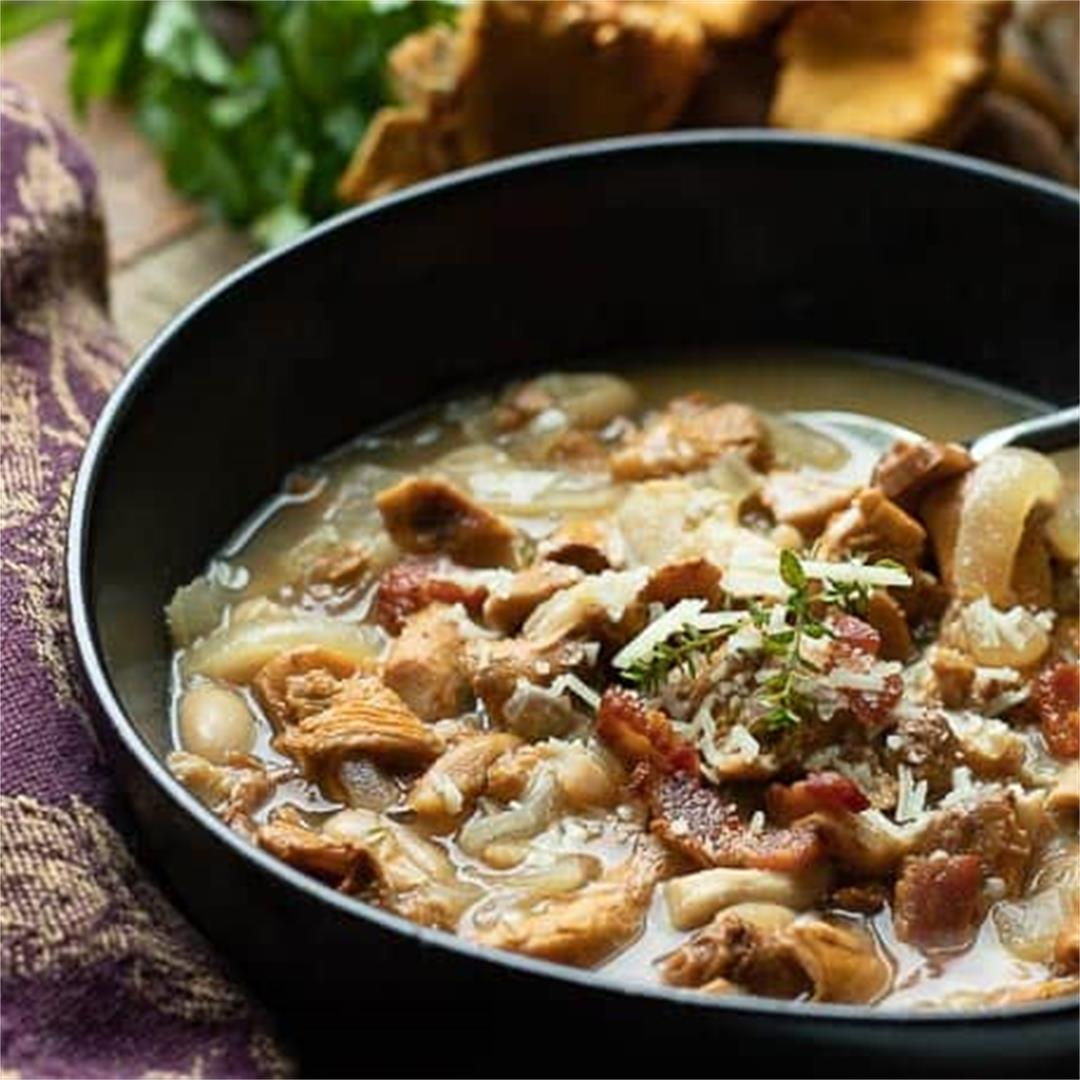Hearty Healthy Mushroom Soup
