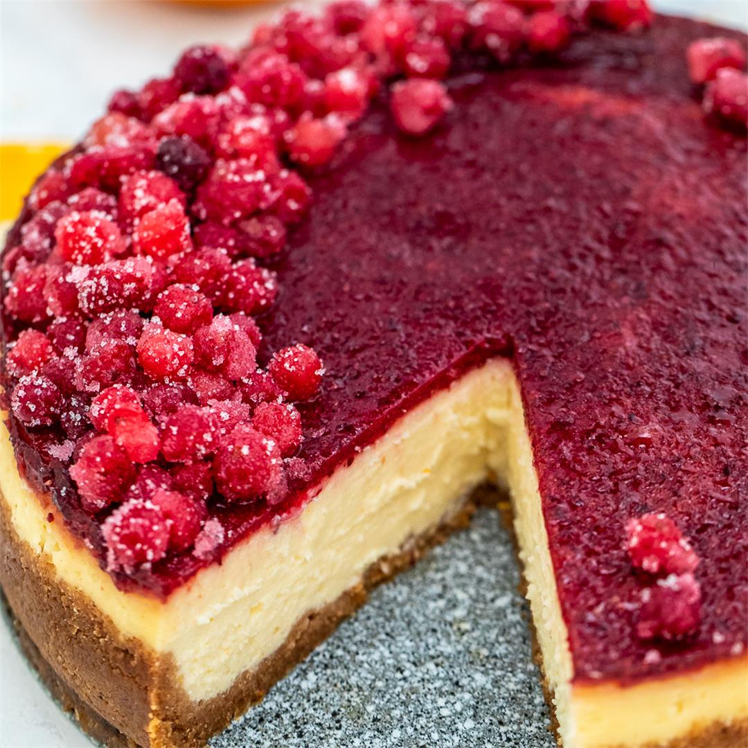 Cranberry Cheesecake Recipe [Video]