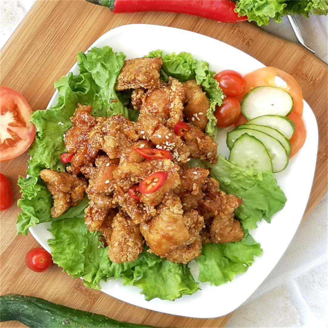 Marmite Chicken (妈蜜鸡)