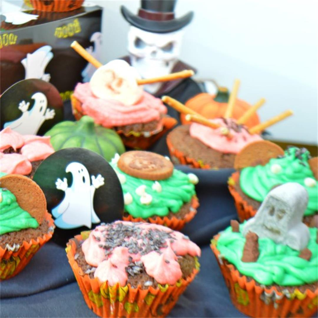 Halloween Cupcakes — Tasty Food for Busy Mums Kids Baking