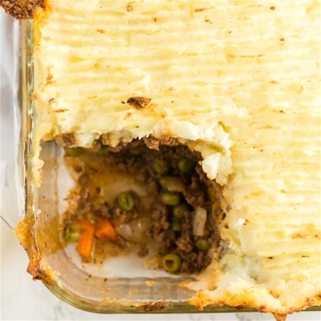 Easy Shepherd's Pie (with beef)