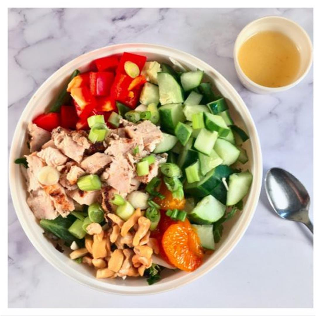 Chicken Salad with Lemon-Ginger Dressing