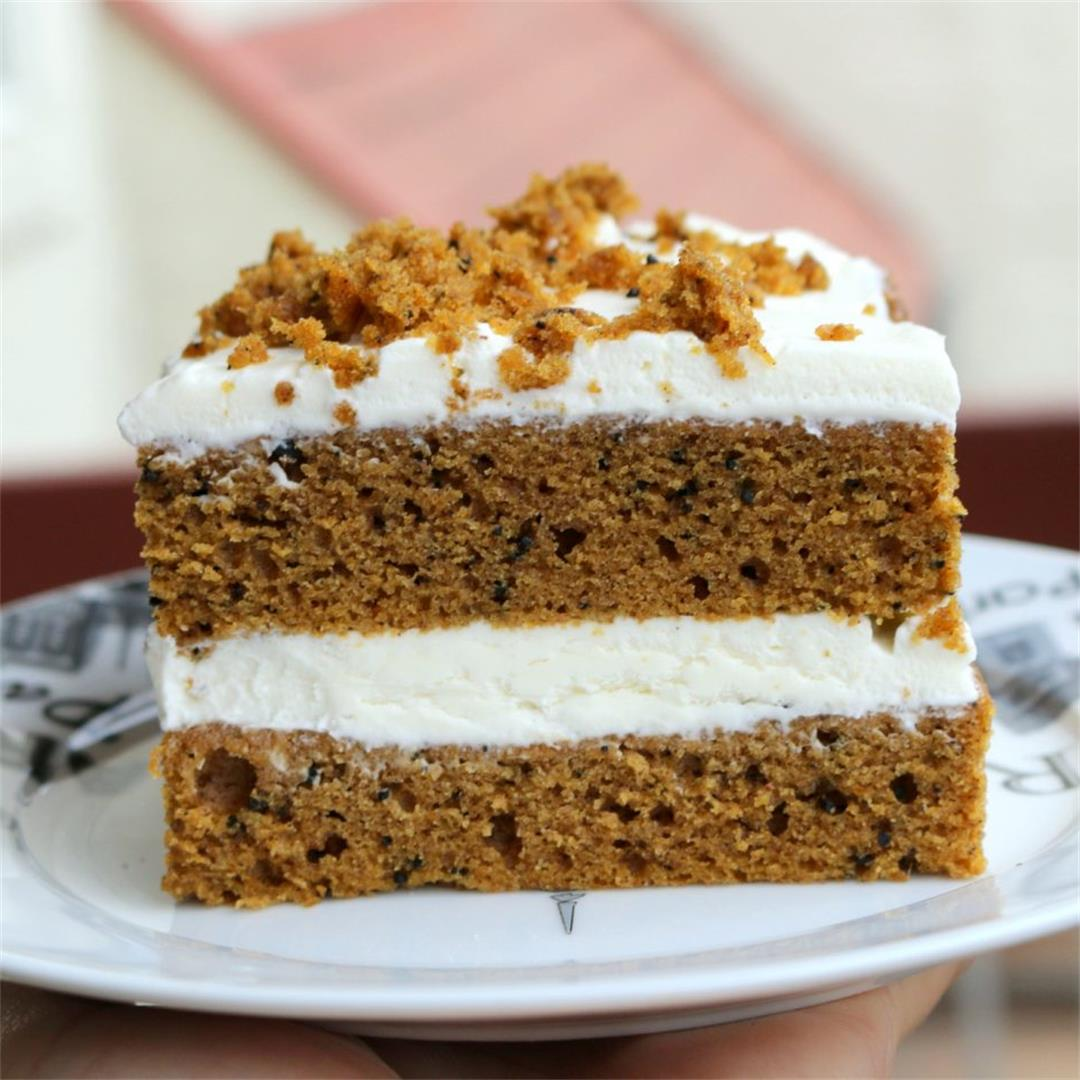 Pumpkin Espresso Cheese 5 Star Cake