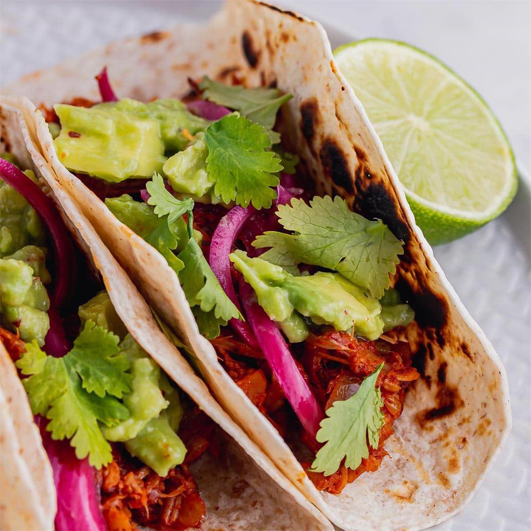 Jackfruit Tacos • The Cook Report