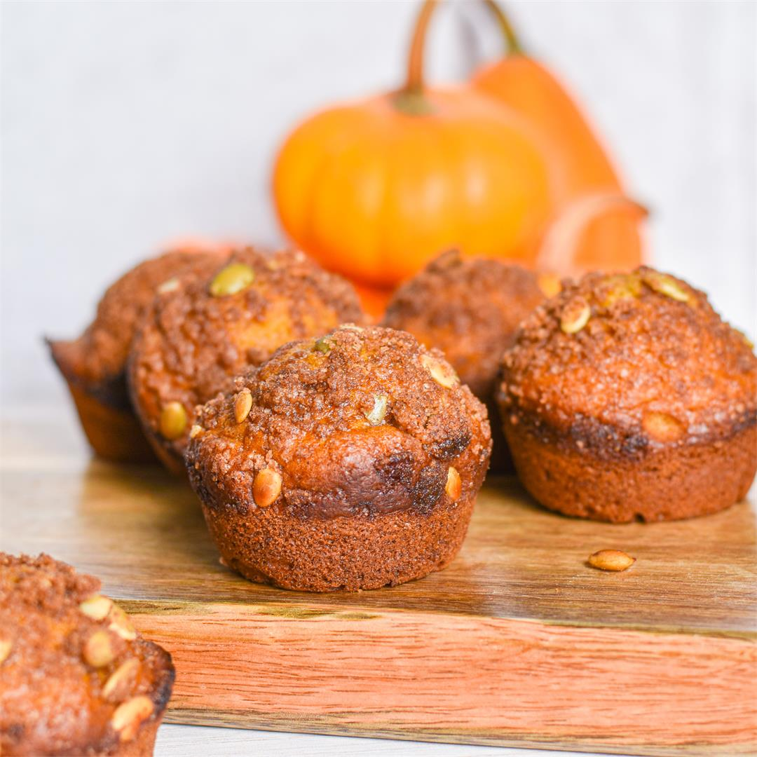 Best Ever Pumpkin Spice Muffins