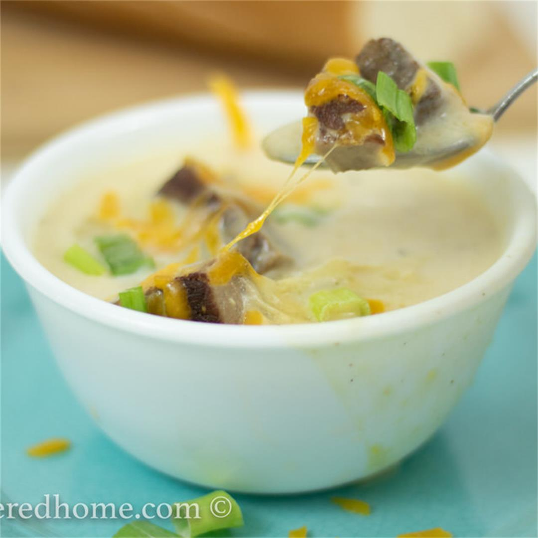 Steak and Potato Soup — The Buttered Home