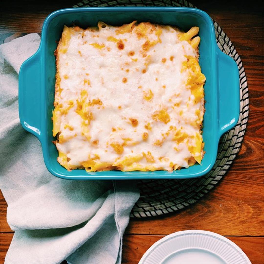 Butternut Squash Lasagna (or pasta bake)