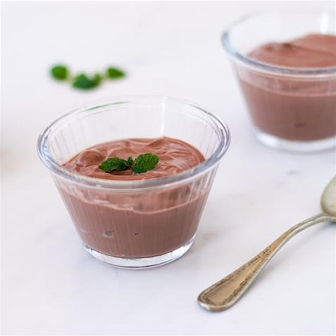 Quick & Easy Chocolate Tofu Pudding Dessert