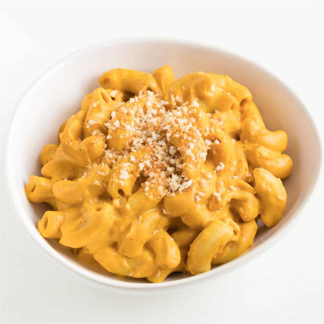 Vegan Sweet Potato Mac and Cheese