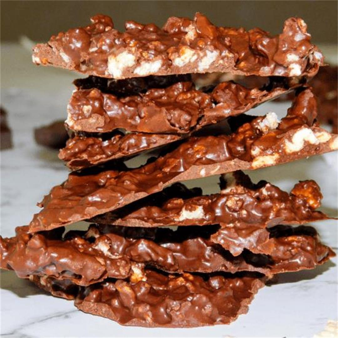 Crunchy Chocolate Bark