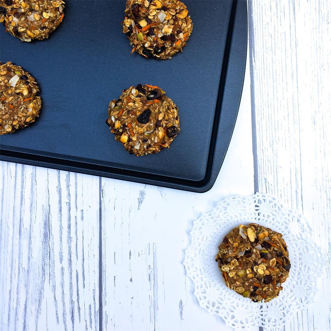 Healthy Breakfast Cookies – No flour, no added sugar!