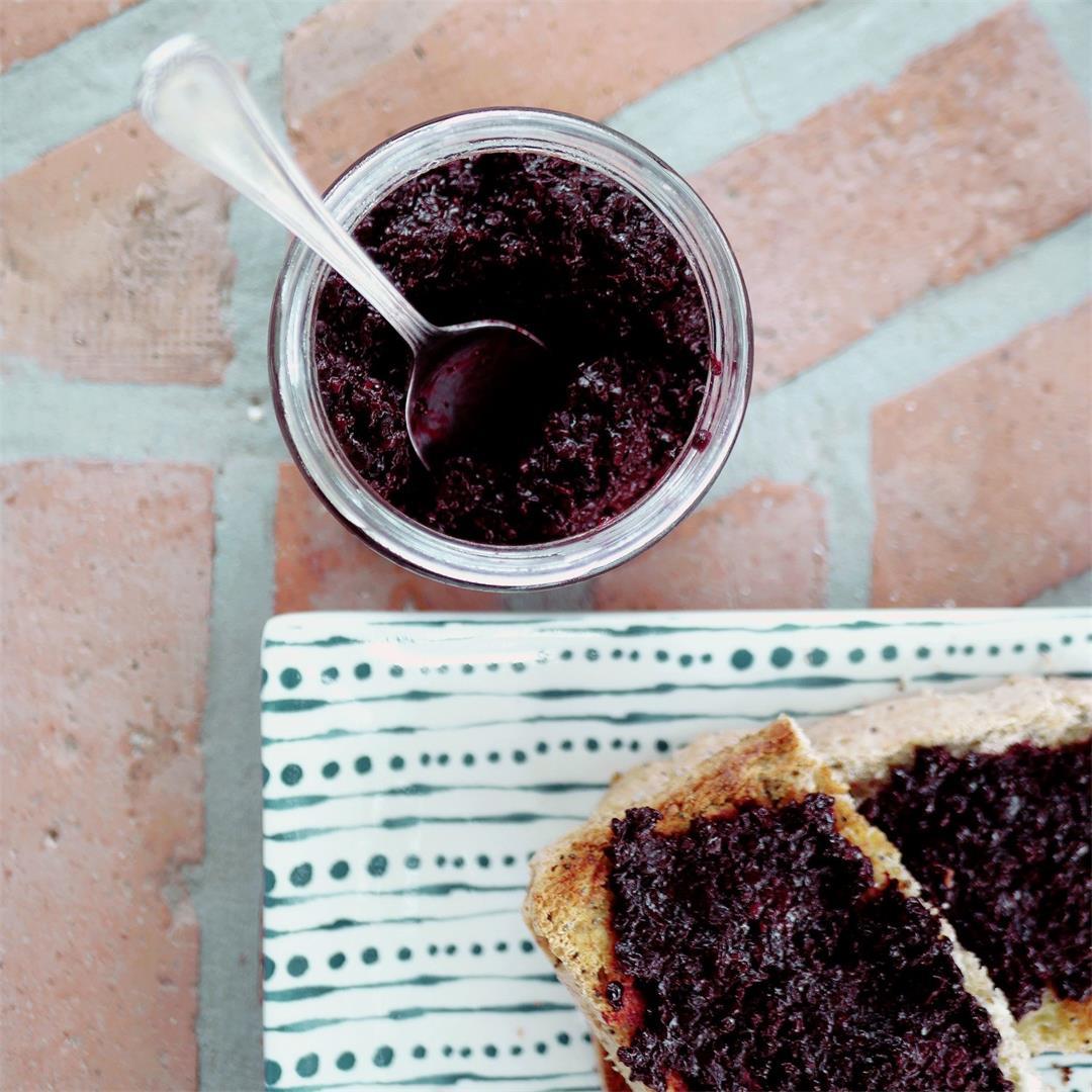 Home Made Blackberry Jam Recipe With No Added Sugar