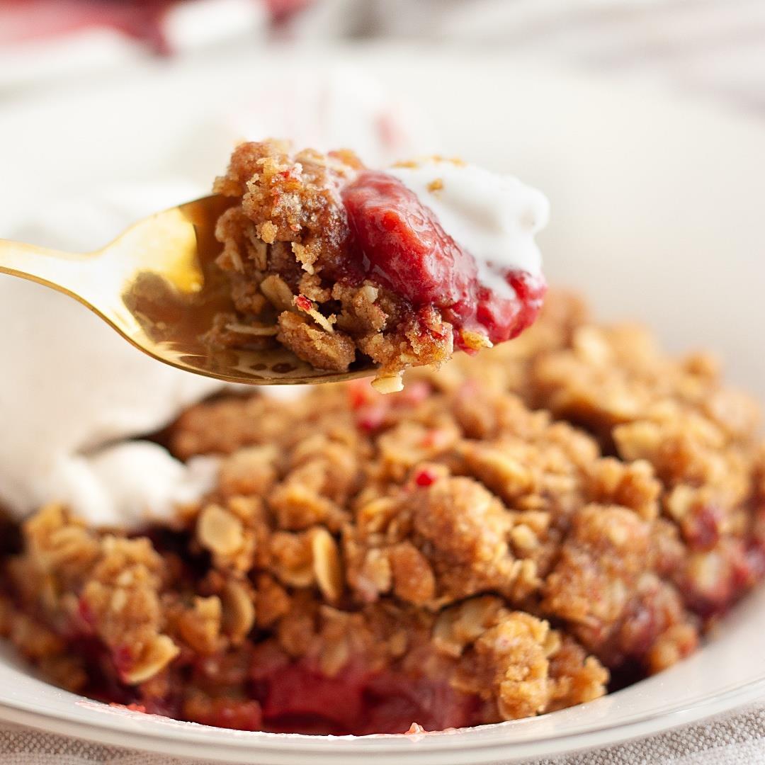 Vegan Berry Crisp