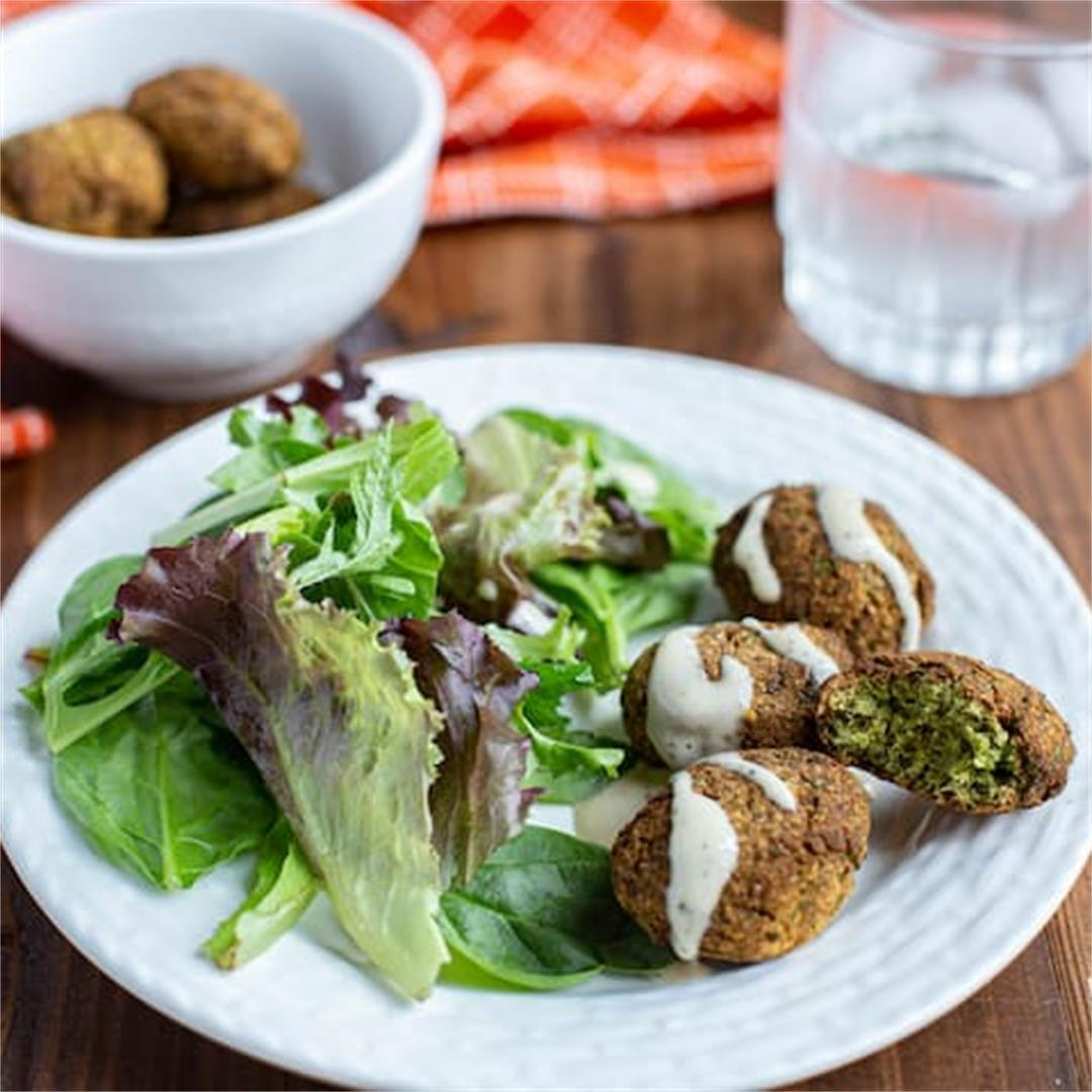 Easy Keto Falafel Recipe with Paleo Ingredients