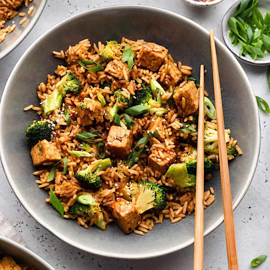 Tempeh Fried Rice