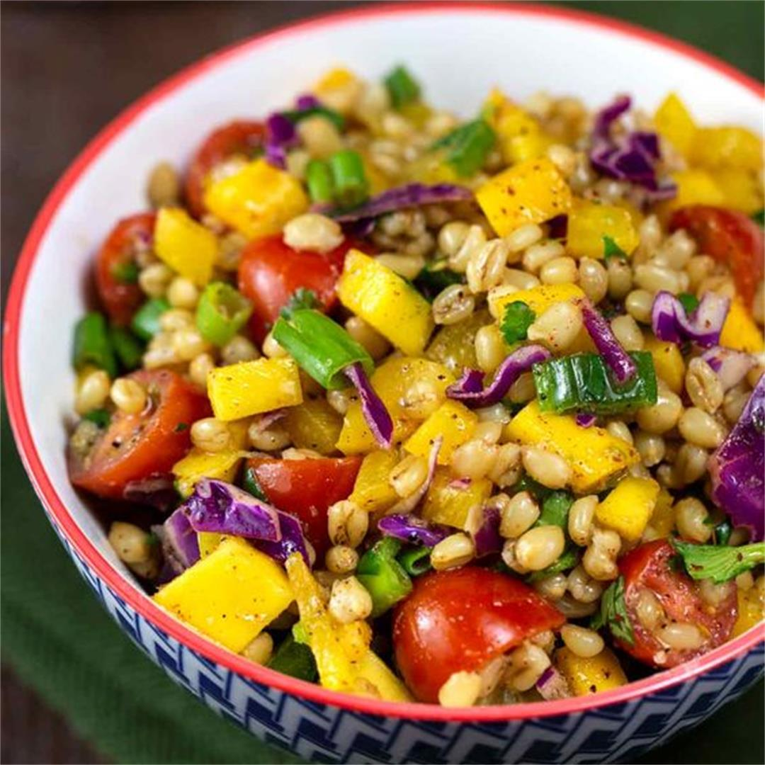 Easy Way To Make Wheat Berry Salad Recipe No1 Recipes Website