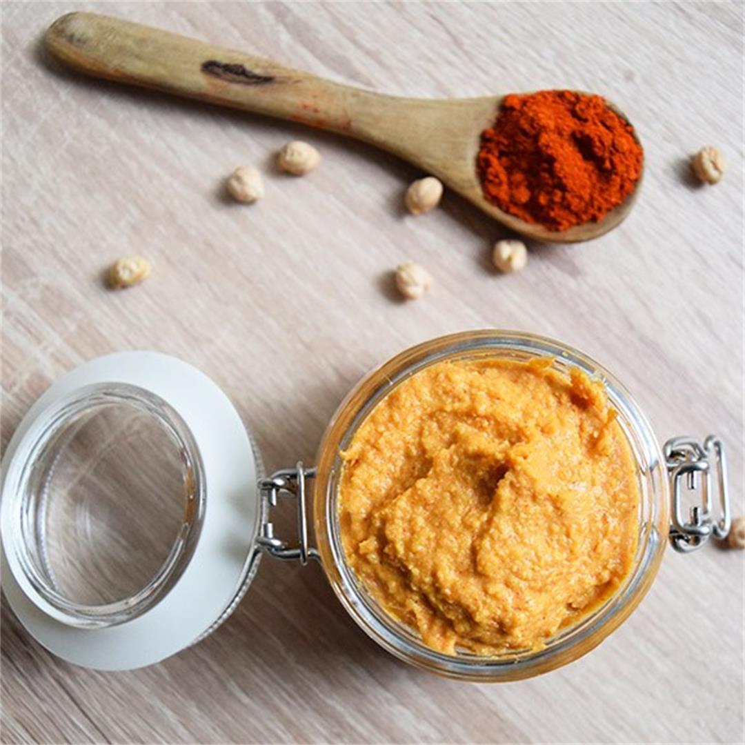 Smoked Paprika Hummus Recipe
