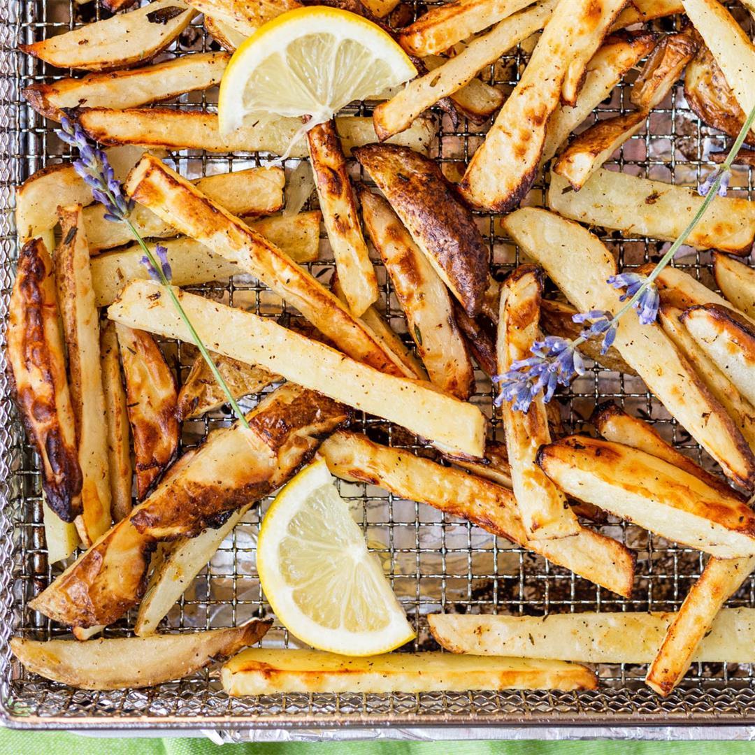 Lemon Lavender French Fries
