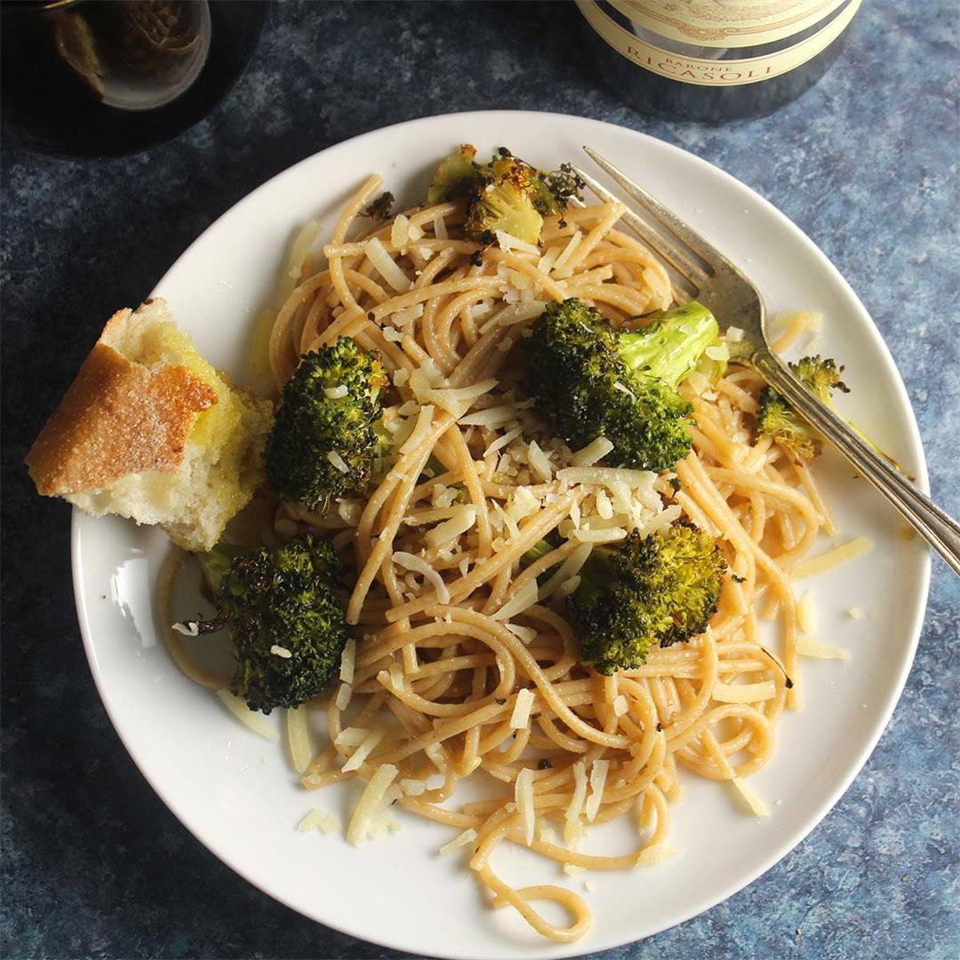 Garlic Broccoli Pasta