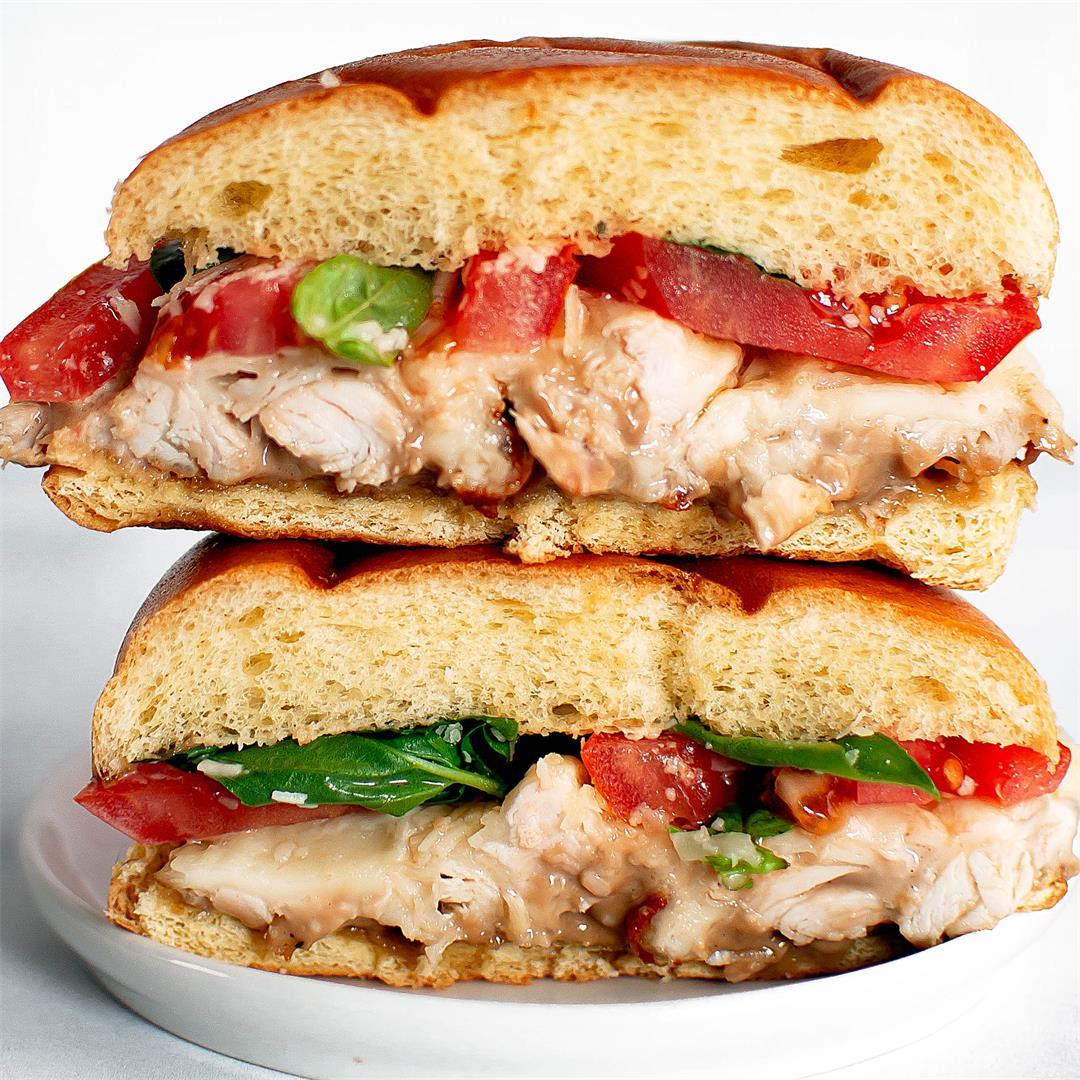 Rotisserie Chicken Bruschetta Sandwich