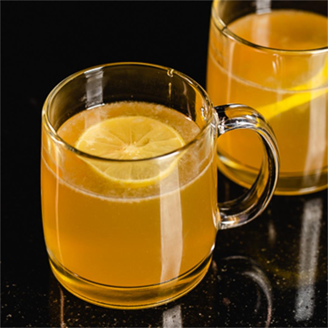The Best Bourbon Hot Toddy