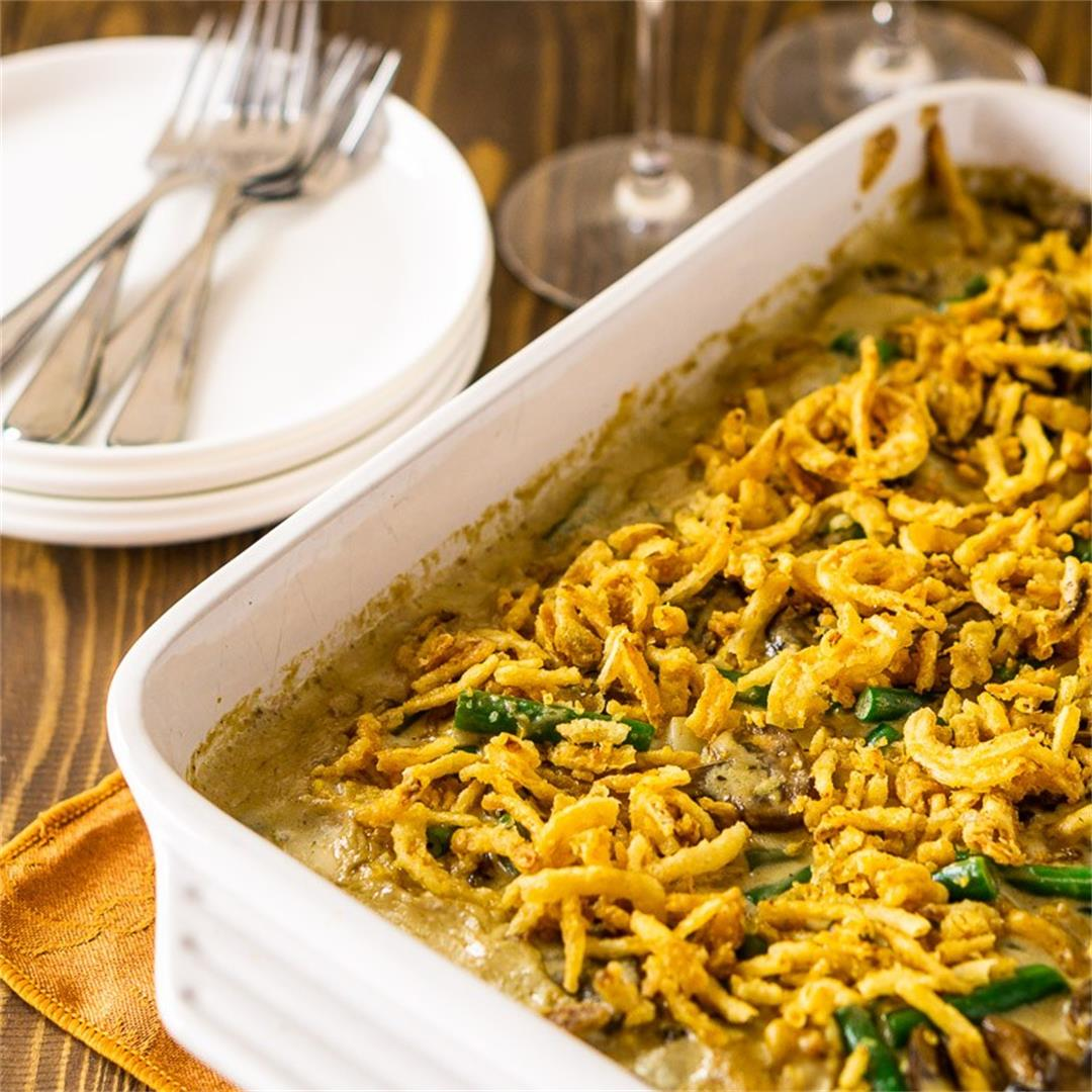 Homemade Green Bean Casserole (With Make-Ahead Directions)