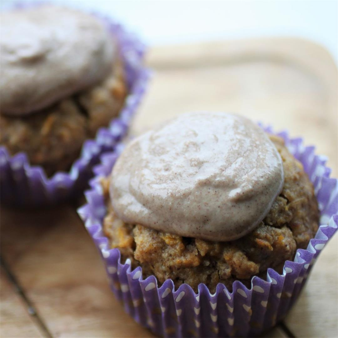 Vegan Pumpkin Cupcakes Recipe (GF)
