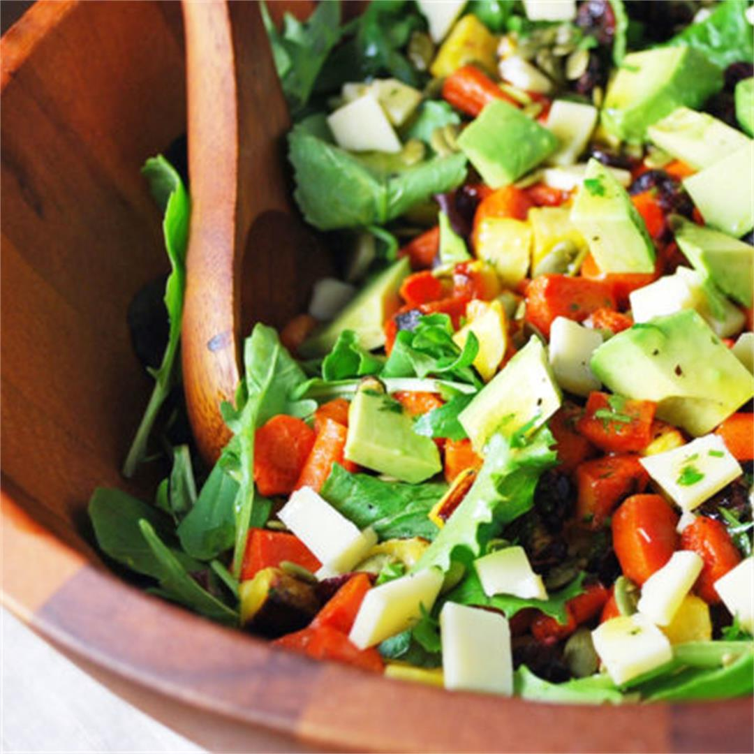 The Best Roasted Vegetable Salad