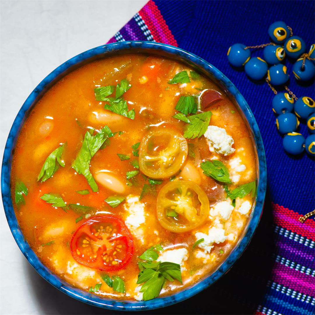 No Worries Here: Greek Fasolada (White Bean Soup)