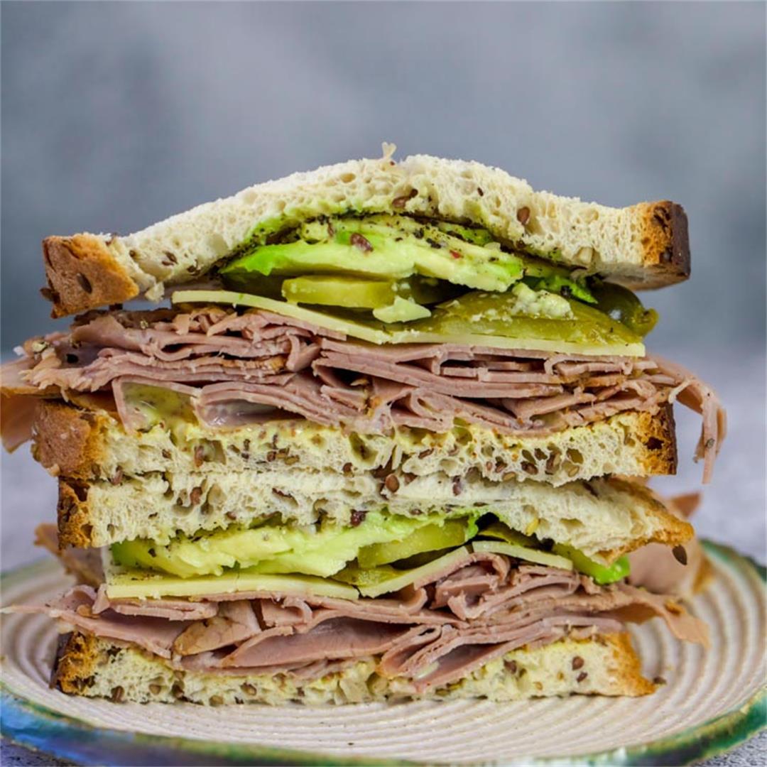 Keto Roast Beef Sandwich