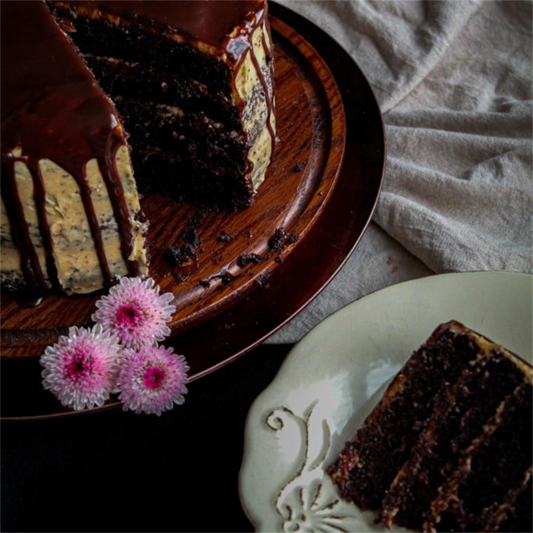 Whiskey Chocolate Cake Recipe