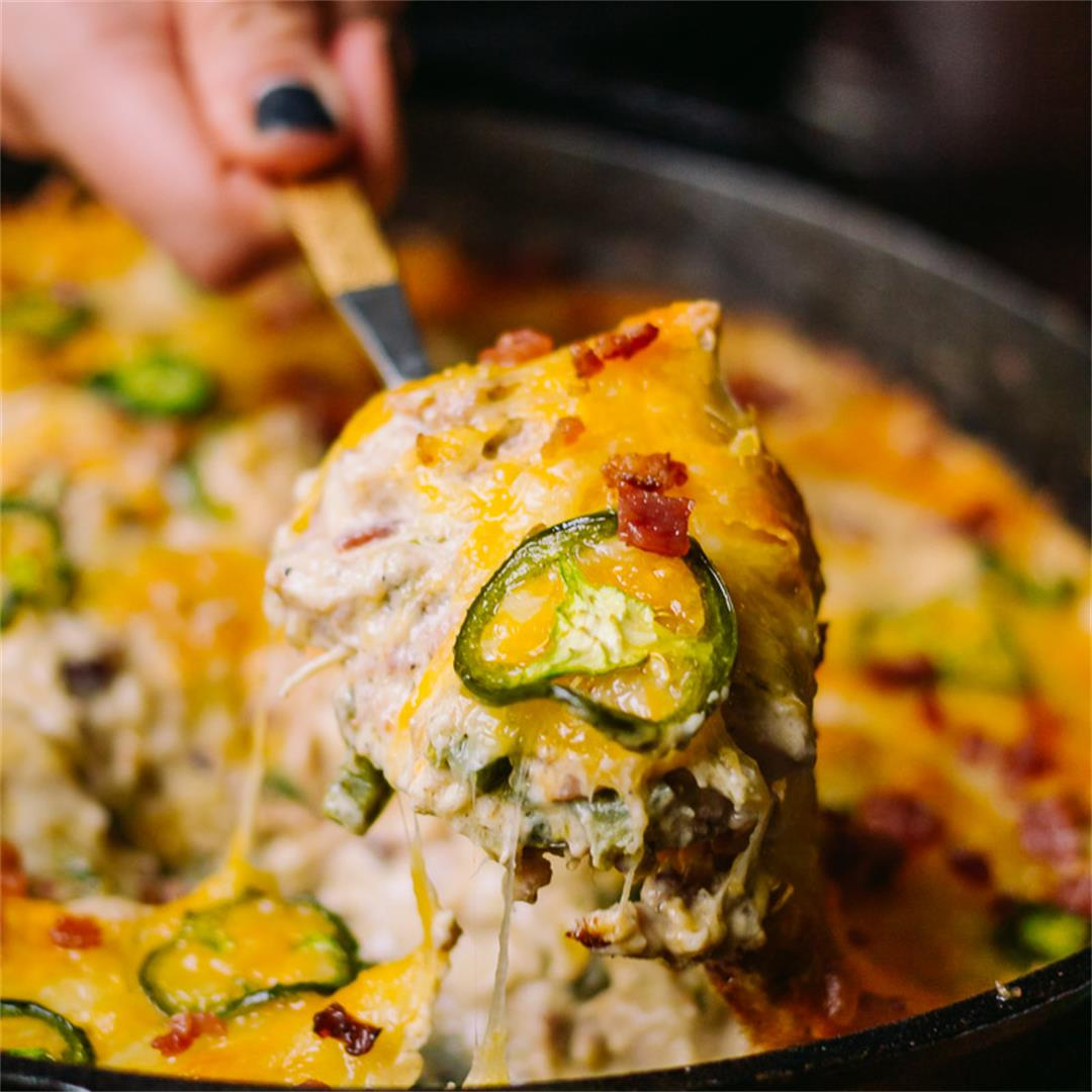 Jalapeño Popper Chicken Skillet