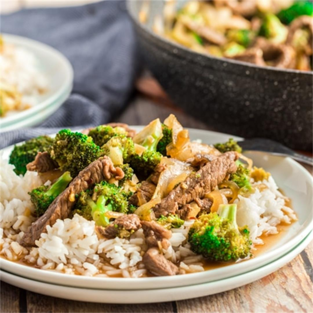 Honey-Soy Beef and Broccoli