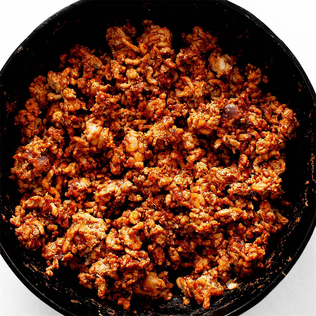 Ground Turkey Taco Meat